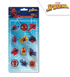 Spiderman 12-pack suddigum