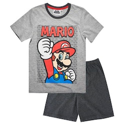 Super Mario 2-delat set med T-shirt & Shorts