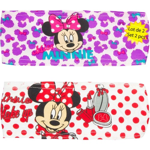 Minnie Mouse 2-pack hårband