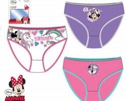Minnie Mouse 3-pack trosor - 6/8 år