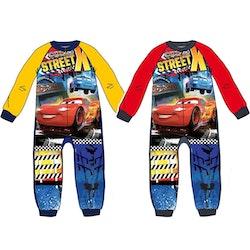 """Cars Fleece overall """"onesie"""""""