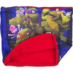 Turtles halsskydd/Skarf/Baklava röd