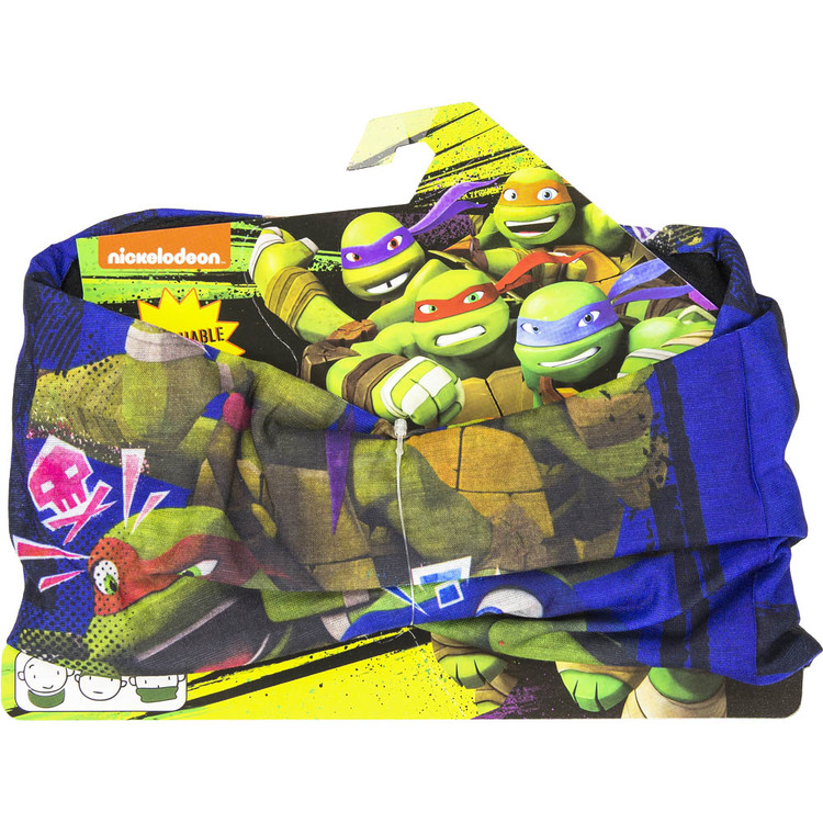 Turtles halsskydd/Skarf/Baklava Svart