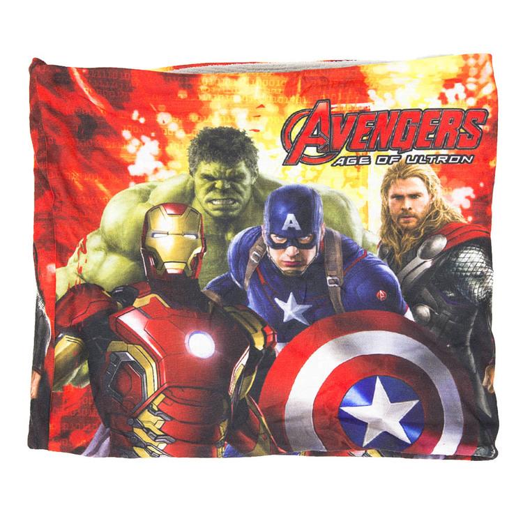 Avengers halsskydd/Skarf/Baklava grå