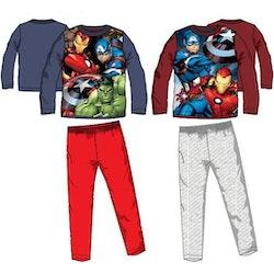 Avengers 2-dels mjukisoverall/pyjamas i fleece