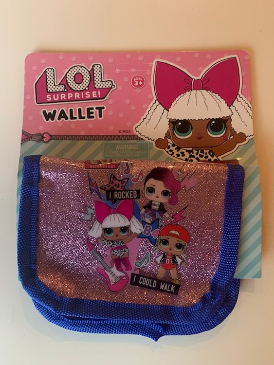 LOL Surprise plånbok Glitter