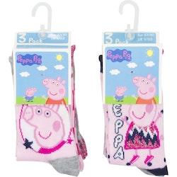 Greta Gris 3-pack strumpor