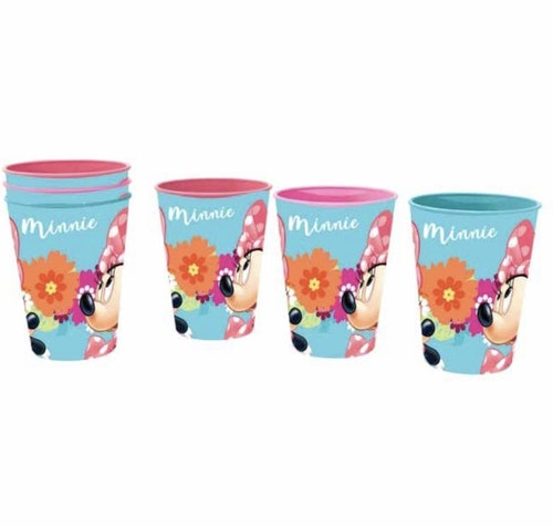 Minnie mouse 3-pack plastmuggar