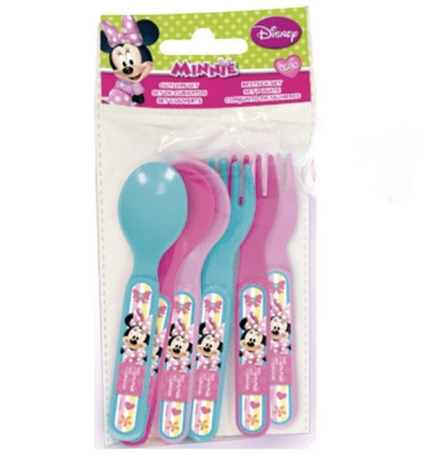 Minnie Mouse 6-pack plastbestick