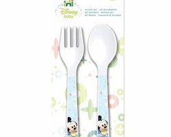 Mickey Mouse 2-pack plastbestick