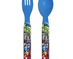 Avengers 2-pack plastbestick
