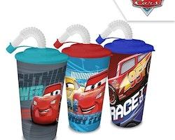Cars Sportflaska i plast
