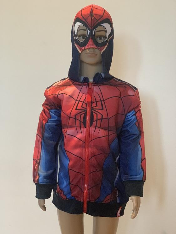 Spiderman Hoodie I storlek 128