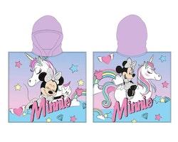 Minnie Mouse Unicorn Bad/dusch Poncho