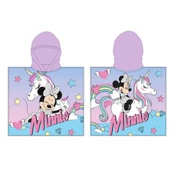 Minnie Mouse Unicorn Bad/dusch Poncho
