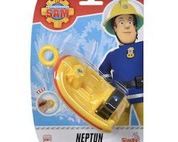 Brandman Sam Livbåten Neptun med motor