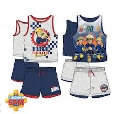 Brandman Sam Linne & Shorts set