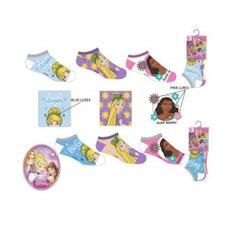 Disney Prinsess 3-pack ankelstrumpor