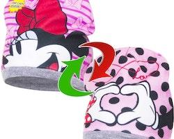 Minnie Mouse Vändbar fleecemössa