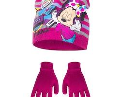 Minnie Mouse mössa & Vantar