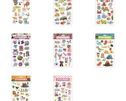 "Stora Stickers/dekaler ""puffy"""