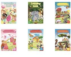 Målarböcker - färglägga