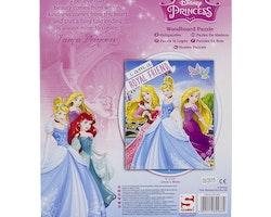 Disney Prinsess Träpussel 9 bitar