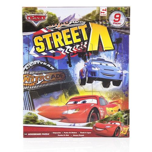 Cars Träpussel 9 bitar