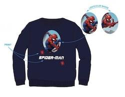 Spindelmannen Sweatshirt med metallic tryck