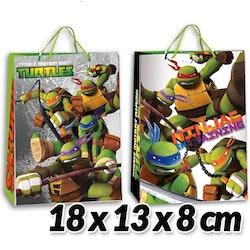 Turtles presentpåse 18 cm