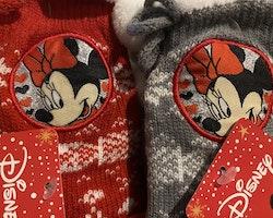 Minnie Mouse Fleecesockor