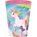Unicorn plastmugg 260 ml