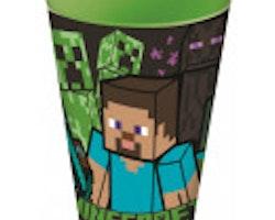 Minecraft plastmugg 260 ml