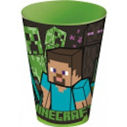 Minecraft plastmugg 260 ml