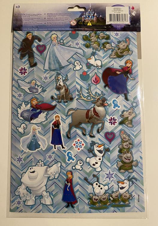 Frost Stickers - Dekorera din egna värld