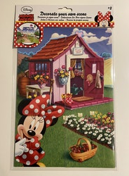 Minnie Mouse Stickers - Dekorera din egna värld