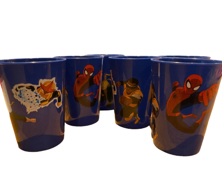 Spiderman plastmugg 260 ml