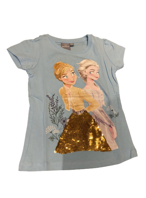 Frost t-shirt med paljetter