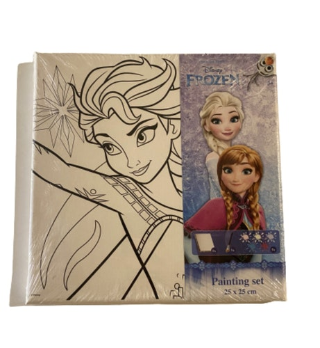 Frost Canvas tavla - Måla din egna tavla