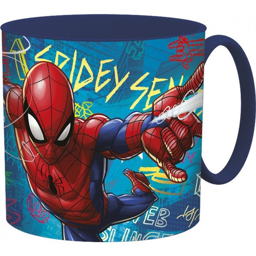 Spiderman plastmugg 265 ml