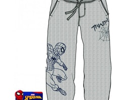 Spiderman ljusgrå mjukisbyxor
