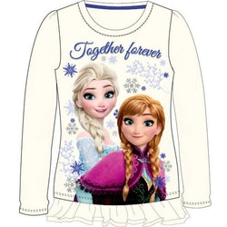 Frost långärmad glittrig tröja