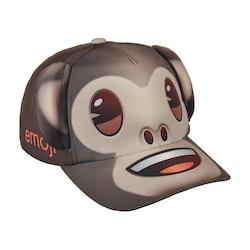 Emoji keps monkey med öron