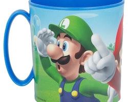 Super Mario plastmugg 350 ml