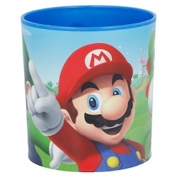 Super Mario plastmugg 350 ml