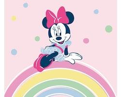 Minnie mouse flecce filt/pläd
