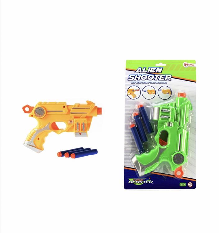 Foam Strike pistol med foam skott
