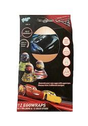 Cars Äggdekoration/äggvästar