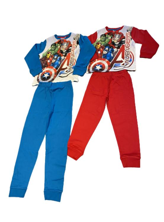 Avengers 2-dels mjukisset/pyjamas i mjuk bomull