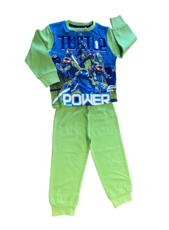 Turtles 2-dels mjukisset/pyjamas i mjuk bomull